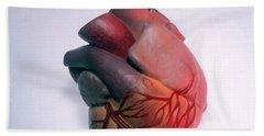 Model Of Heart Hand Towel