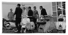 Mods And Suits Hand Towel