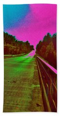 Bath Towel featuring the photograph Moffit Bridge And Maple Ridge Rd. by Daniel Thompson