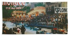 Monaco 1969 Bath Towel