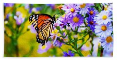 Monarch Butterfly 4 Hand Towel