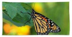 Monarch Butterfly Hand Towel