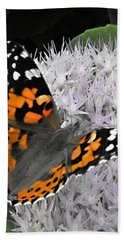 Bath Towel featuring the photograph Monarch by Photographic Arts And Design Studio