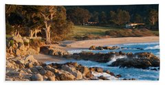Monastery Beach In Carmel California Bath Towel