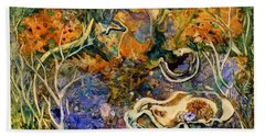 Monet Under Water Hand Towel