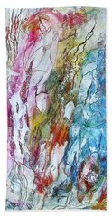 Monet's Garden Hand Towel