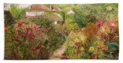 Monets Garden Fall Medley Bath Towel