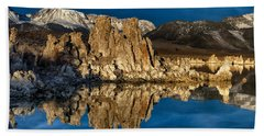 Mono Lake In March Hand Towel