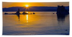 Mono Lake Sunrise Hand Towel