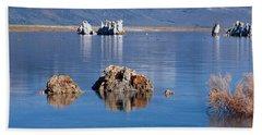 Mono Lake, Tufa Rock, Ca Hand Towel