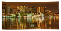 Monona Terrace Madison Wisconsin Bath Towel