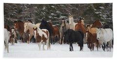 Montana Herd Hand Towel
