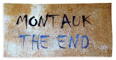 Montauk-the End Hand Towel