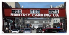 Monterey Cannery Row California 5d25029 Bath Towel