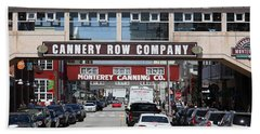 Monterey Cannery Row California 5d25034 Bath Towel