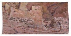 Montezumas Castle Bath Towel
