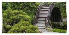 Moon Bridge - Japanese Tea Garden Bath Towel