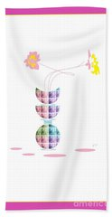 Moon Flower 2 Hand Towel
