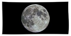 Hand Towel featuring the photograph Moon Hdr by Greg Reed