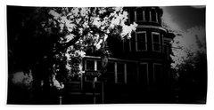 Hand Towel featuring the photograph Moon N U by Robert McCubbin