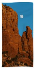 Moon Over Chicken Point Hand Towel