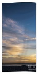Moon Over Doheny Hand Towel by Peggy Hughes