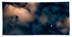 Moon Over Maui   Bath Towel