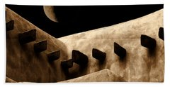 Moon Over Santa Fe Bath Towel
