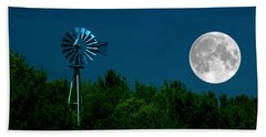 Moon Risen Bath Towel