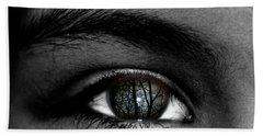 Moonlight In Your Eyes Hand Towel