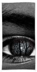 Moonlight In Your Eyes Hand Towel