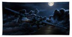 Moonlight Serenade Hand Towel