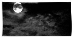 Moonlit Clouds Bath Towel