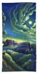 Moonlit Dreams Come True Hand Towel
