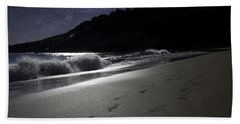 Moonshine Beach Bath Towel by Brent L Ander