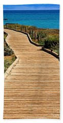 Moonstone Beach Park By Diana Sainz Bath Towel