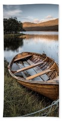 Moored On Loch Awe Hand Towel