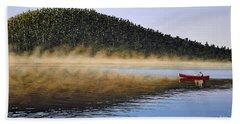Moose Lake Paddle Hand Towel