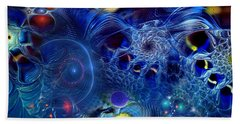 Hand Towel featuring the digital art More Things In Heaven And Earth by Casey Kotas