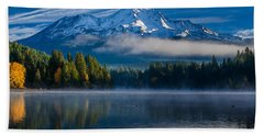 Morning At Siskiyou Lake Hand Towel