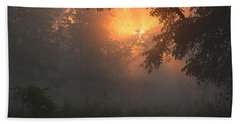 Morning Fog Bath Towel