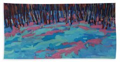 Morning Forest Bath Towel by Phil Chadwick