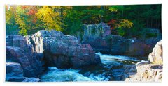 Morning In Eau Claire Dells Hand Towel