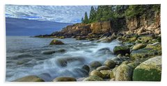 Morning In Monument Cove Hand Towel