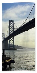Morning In San Francisco Hand Towel