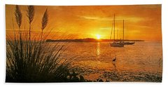 Morning Light - Florida Sunrise Bath Towel