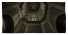 Morning Light On The Golden Dome Ceiling Hand Towel by Dan Sproul