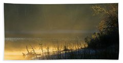 Morning Mist Hand Towel by Dianne Cowen