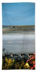 Morning Mist Over Lissycasey Hand Towel