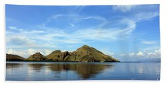 Bath Towel featuring the photograph Morning On Komodo by Sergey Lukashin